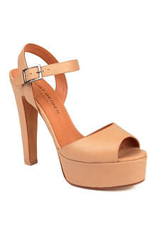 KURT GEIGER Gen leather sandals
