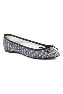 KURT GEIGER Lourdes snake-print leather pumps