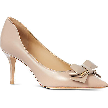 FERRAGAMO Runa court shoes (Taupe