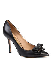 FERRAGAMO Runa 100 leather courts