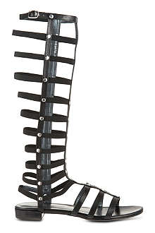 STUART WEITZMAN Knee high gladiator sandals