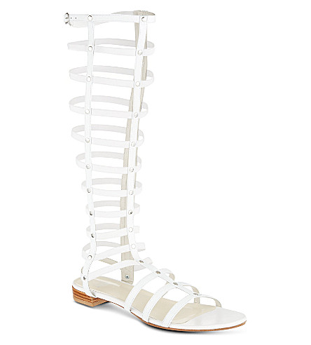 STUART WEITZMAN Gladiator sandals (White