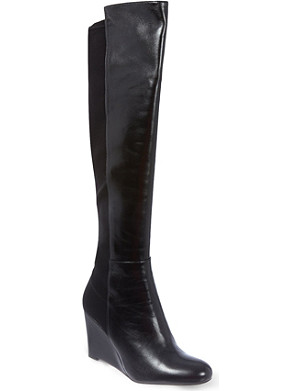 STUART WEITZMAN Demi leather knee boots