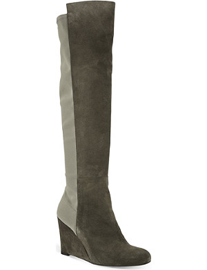 STUART WEITZMAN Demi soon suede knee-high boots