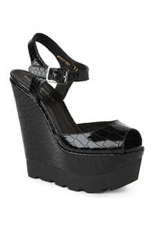 KURT GEIGER Georgia wedge sandals