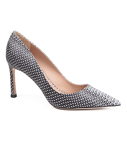 KURT GEIGER Catherine court shoes (Blk/white