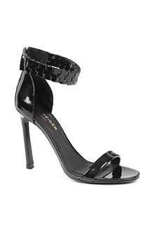 KURT GEIGER Aneka leather ankle-strap sandals