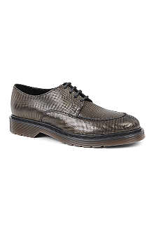 KURT GEIGER Smith printed-leather brogues