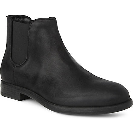 KURT GEIGER Sadler leather Chelsea boots (Black