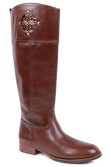 TORY BURCH Kiernan leather knee-high boots