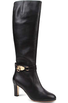 FERRAGAMO Ramos c knee-high boots