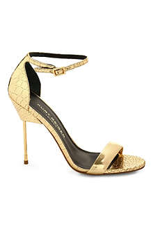 KURT GEIGER Belgravia leather sandals