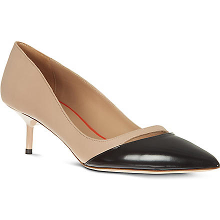 KURT GEIGER Cordelia court shoes (Nude