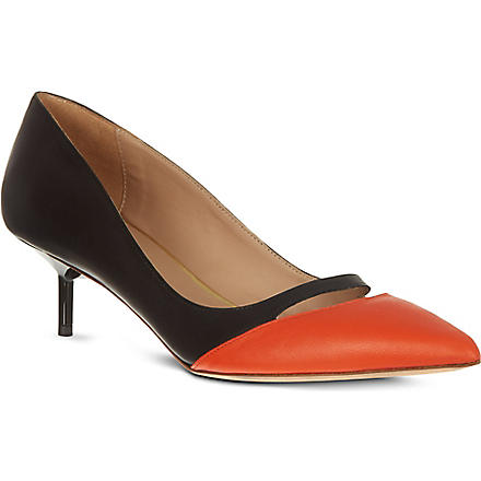 KURT GEIGER Cordelia court shoes (Orange