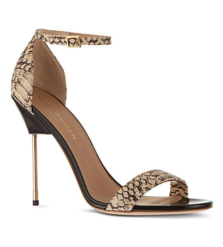 KURT GEIGER Belgravia sandals (Salmon