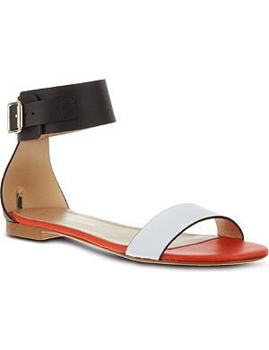KURT GEIGER Lane leather sandals