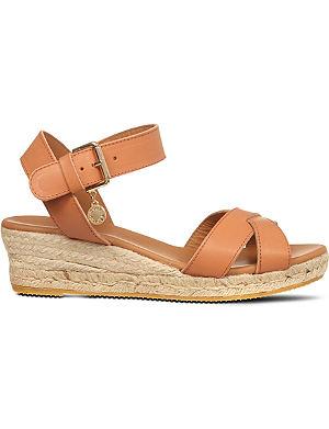 KURT GEIGER Libby wedge sandals