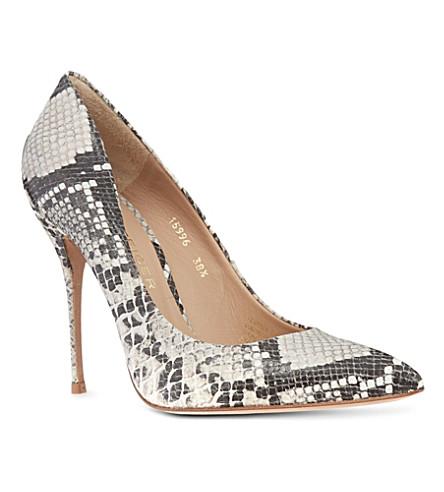 KURT GEIGER Ellen court shoes (Blk/white
