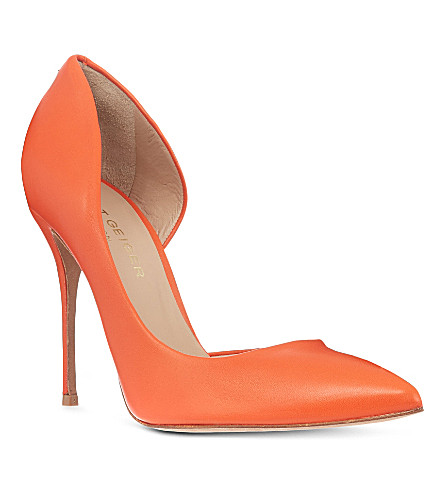 KURT GEIGER LONDON Anja court shoes (Orange