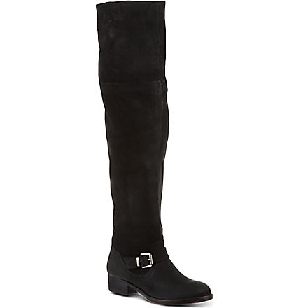 KURT GEIGER Ash knee-high boots (Black