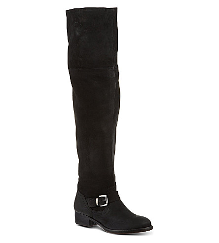 KURT GEIGER LONDON Ash knee-high boots (Black