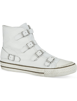 KURT GEIGER Lizzy leather high tops