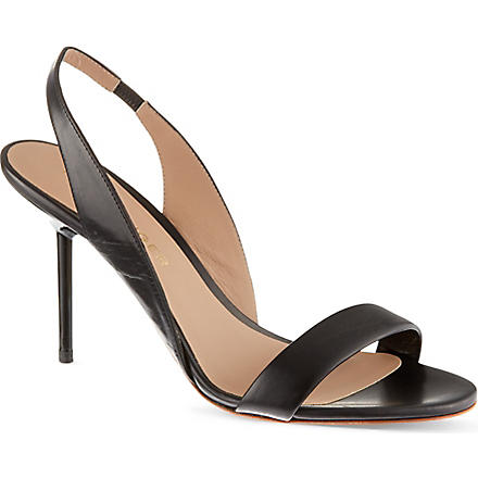 KURT GEIGER Buttercup heeled sandals (Black