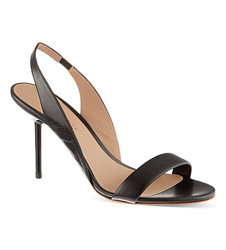 KURT GEIGER LONDON Buttercup heeled sandals (Black