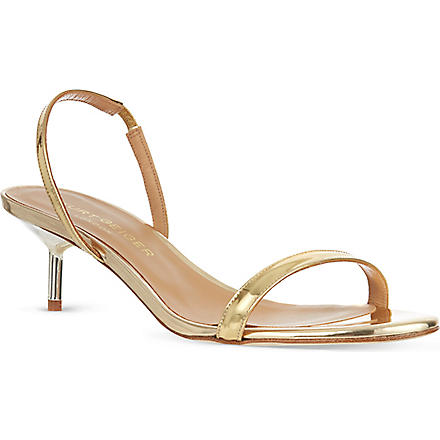 KURT GEIGER Camelia sandals (Gold