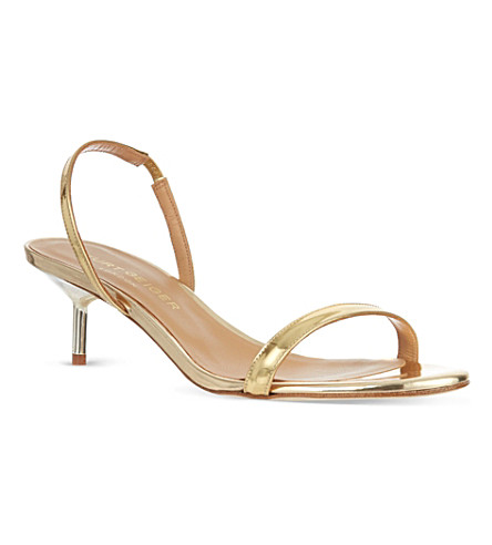 KURT GEIGER Camelia sandals (Gold