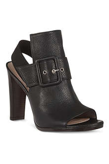 STUART WEITZMAN Sunbelt leather sandals