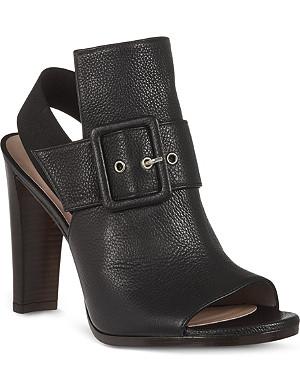 STUART WEITZMAN Sunbelt leather sandals