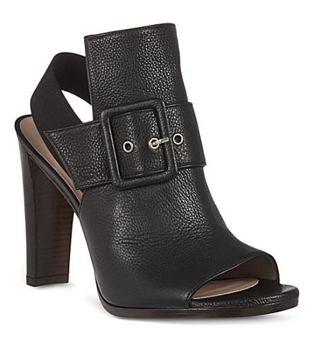 STUART WEITZMAN Sunbelt leather sandals (Black