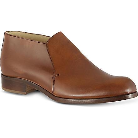 KURT GEIGER Byron leather loafers (Tan