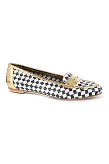 KURT GEIGER Poppy checkered pumps