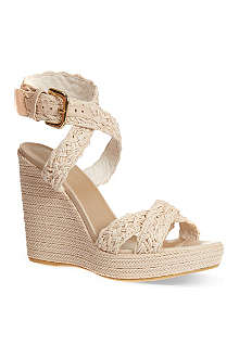 STUART WEITZMAN Hoopla wedge sandals