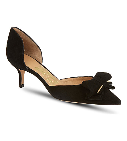 FERRAGAMO Rietta court shoes (Black
