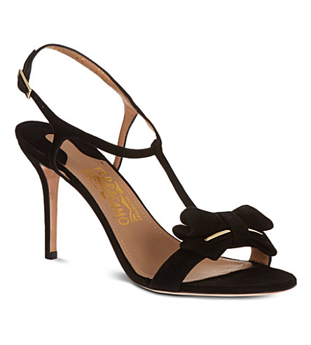 FERRAGAMO Pavi heeled sandals (Black