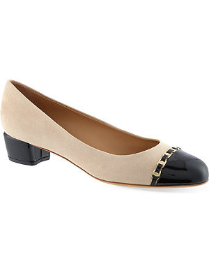 FERRAGAMO Pim 30 court shoes