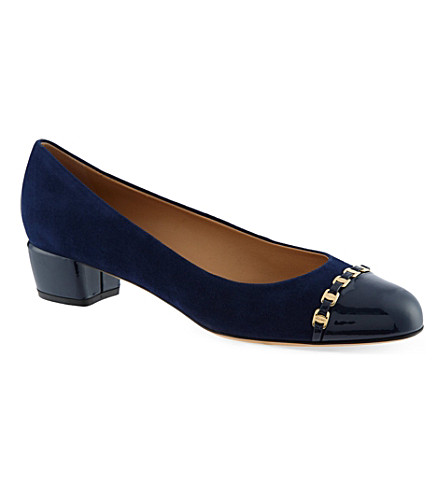 B STORE Pim 30 court shoes (Navy