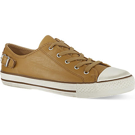 KURT GEIGER Liberty leather trainers (Tan