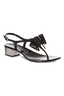FERRAGAMO Perala heeled sandals