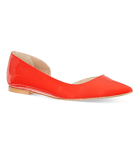 KURT GEIGER Primrose patent pumps (Red