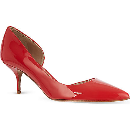KURT GEIGER Tilia patent courts (Red