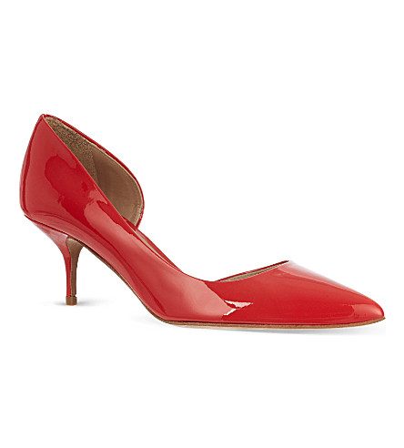 KURT GEIGER LONDON Tilia patent courts (Red
