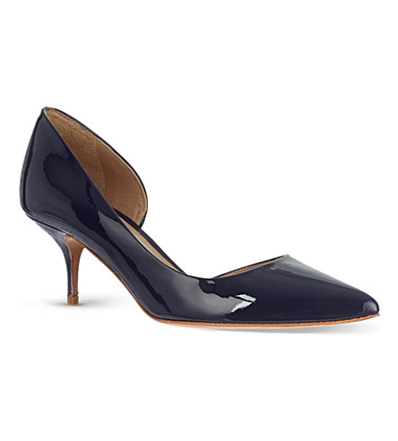 KURT GEIGER LONDON Tilia patent courts (Navy