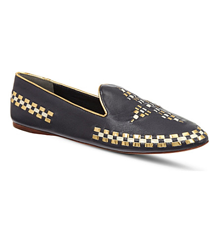TORY BURCH Marlow pumps (Blue/drk.c