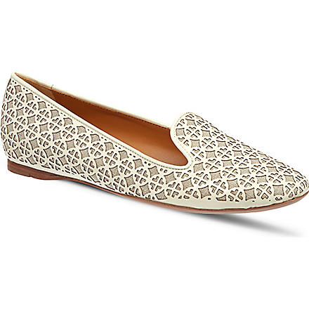 TORY BURCH Maura pumps (Bone