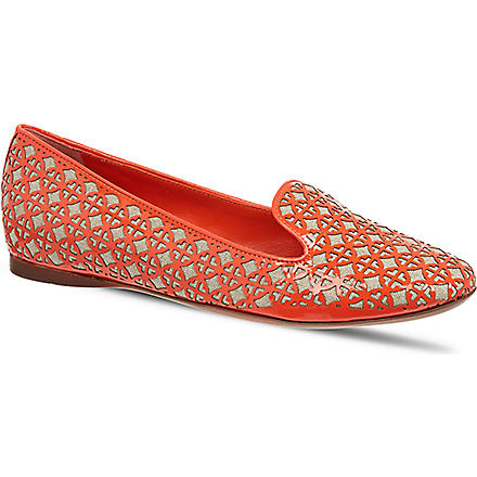 TORY BURCH Maura pumps (Orange