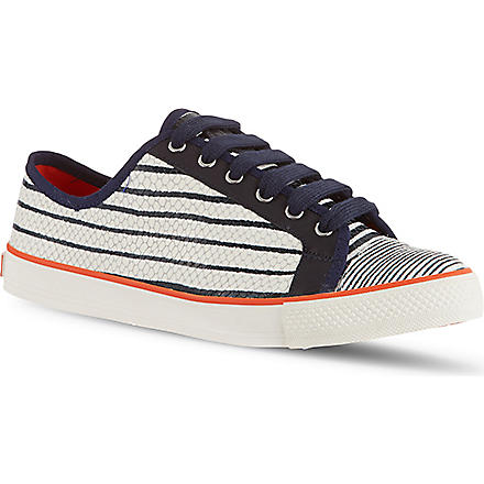TORY BURCH Millie trainers (White/navy